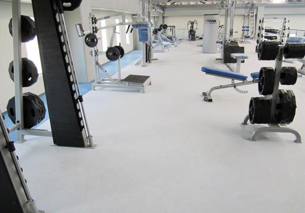 Pavimentos Pavipor - Suelo de gimnasio