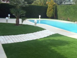 Césped artificial decorativo - 52