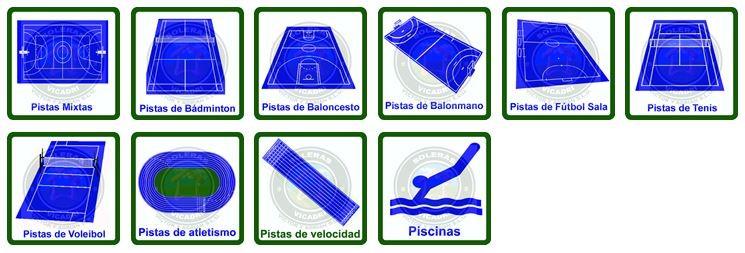 Dónde se aplican los pavimentos deportivos