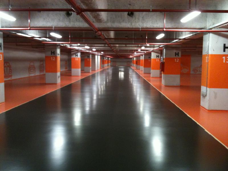 Pavimentos poliuretano pavimentos pavipor for Tipos de garajes