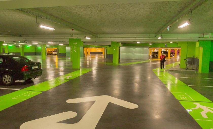 Pintura garajes 7 pavimentos pavipor - Pinturas para garajes ...