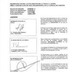 Certificado buena ejecución de obra - Candana de Carueño