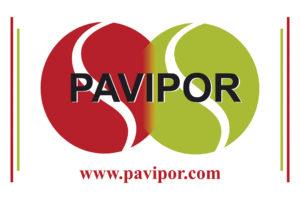 Logo mural Pavimentos Pavipor